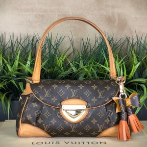 Authenticated Louis Vuitton Beverly MM FL4087